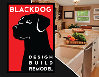 Blackdog Builders Retractable Banner Stand