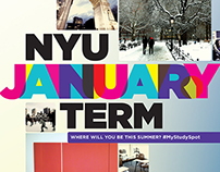 NYU January Term Poster - Work In Progress