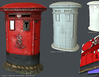 Postbox (low poly model)