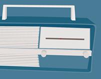 GRAPHIC DESIGN // Radio Vintage
