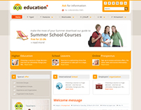 Education - Responsive Joomla Template