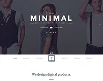T-One minimal & creative WordPress Theme