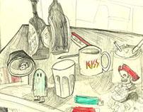 Bandas Ilustradas - Los Acetones