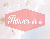 Flower Affair. Website + Promo