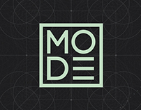MODE - Motion Design Conference Branding