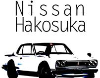 1971 Nissan Hakosuka Skyline GT-R Render