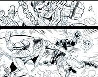 Comic Book Inks —2012