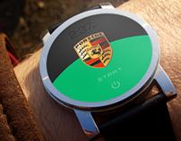 Start your engine digital watch for Porsche