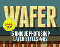 Sale#06: 15 Unique Photoshop Layer Styles #02