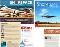 Internal newsletter design & layout
