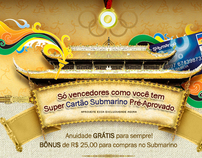 Propostas Submarino E-mail marketing