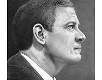 Chief Justice John Roberts for The Atlantic