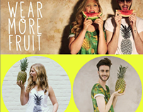 WEAR MORE FRUIT - NEW COLLECTION