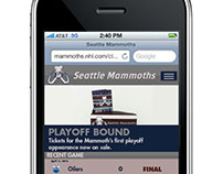 Seattle Mammoths Ad Campaign