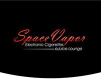 Logo design for Space-Vapor
