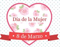 Día de la Mujer y Día de la Madre