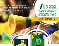 Propaganda para Copa do Mundo  (Kit Livro + CD)