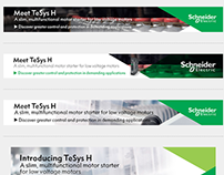 Schneider Electric - Various Graphical Web Assets