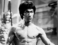 Bruce Lee Digital Painting