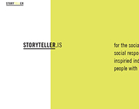 In-Progess: Storyteller.is Web Design