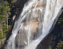 Shannon Falls - Squamish BC
