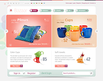 Bazaar - Joomla e-shop Template