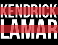 Kendrick Lamar Mock-Website