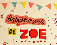 Babyshower de Zoe!