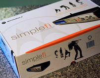Motorola Simplefi Packaging