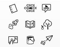 Adobe Voice Iconography
