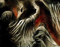 Illustration for 'Viy' by Nikolai Gogol