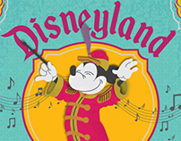 Disneyland Orchestrum Album Cover Art