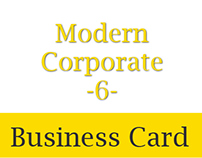 Modern Corporate Business Card 6