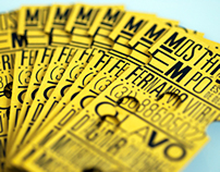 Mostarda em Pó - Businesses Card