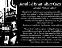 ACG Annual Call for Art card Summer 2013