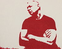 Printmaking - Mark in Red
