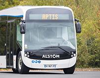 """ALSTOM - E-bus """"Aptis"""""""