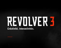 Revolver 3 (corporate site) // flash website