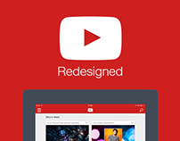 YouTube For iPad Redesigned