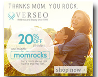 Mom Rocks Social Media and Email Campaign