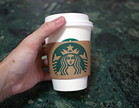 Starbucks Coffee Cup Sleeve