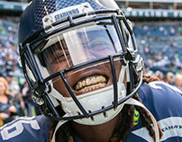 Seattle Seahawks Pregame Photography