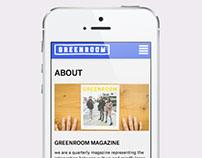 Greenroom Magazine — 2014