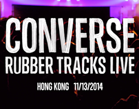 Converse x Trash Talk - Rubber Tracks Live Hong Kong