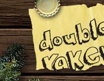 Double Raker christmas card // flash game