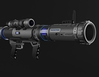 Futuristic Bazooka (based on the PC game 'Front Lines')