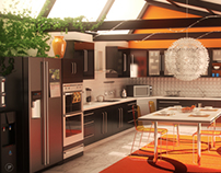 'Dream Big' Kitchen Visualization