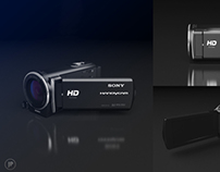 Sony Handycam 3D Visualization