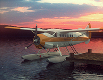 deHavilland Float Plane