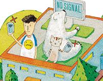 2014 Editorial illustrations